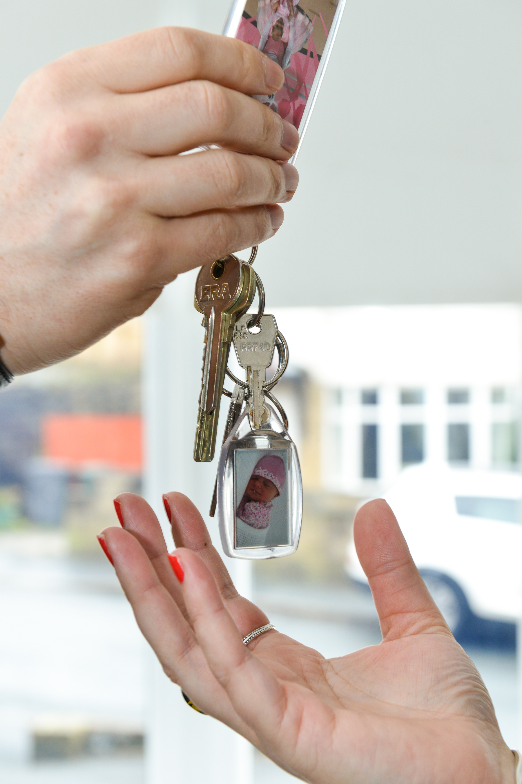 handing-over-the-keys-to-the-new-house