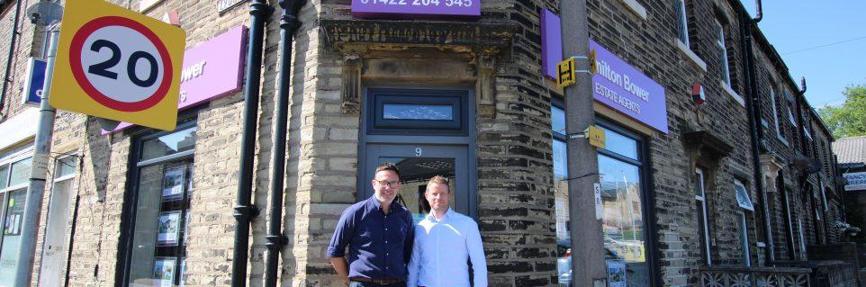 Mark and James Hamilton Bower